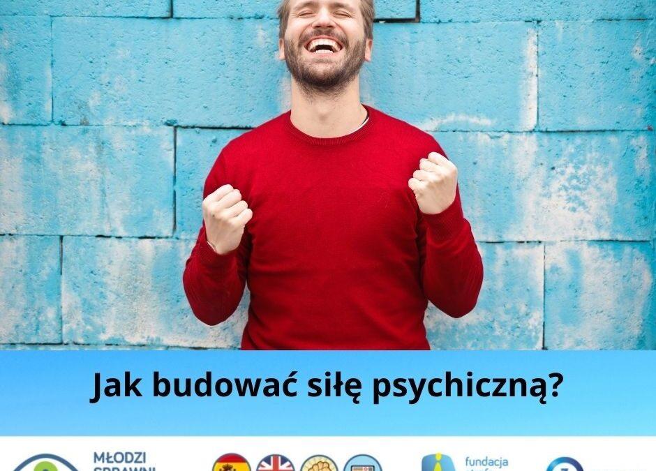 """Relacja z pierwszego warsztatu rozwojowego pt. """"Jak wzmocnić swoją siłę psychiczną, czyli jak lepiej żyć i radzić sobie ze stresem"""""""